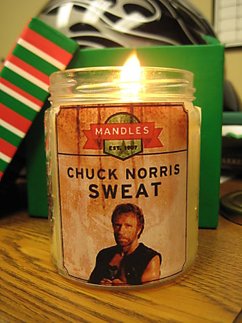Chuck Norris Sweat Mandle