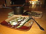 Plated Zucchini