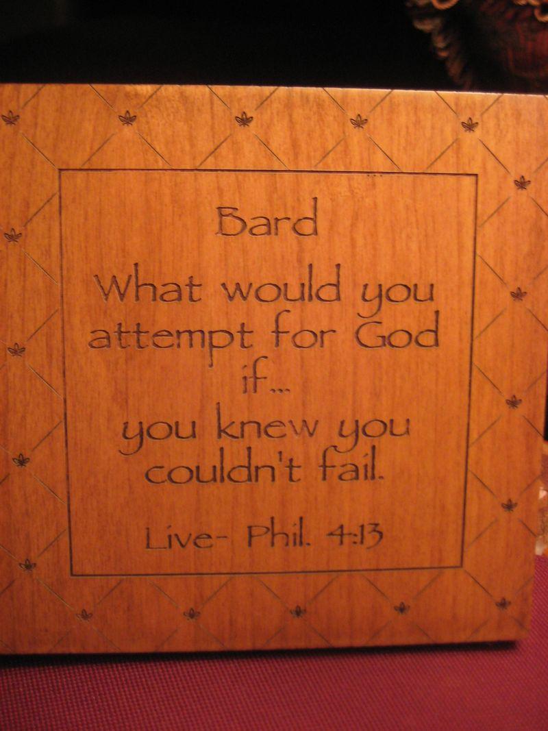 Attempt for God...